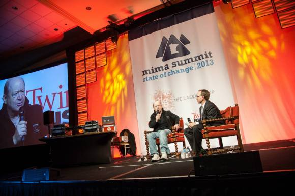Greg Swan and Bob Lefsetz, MIMA Summit 2013