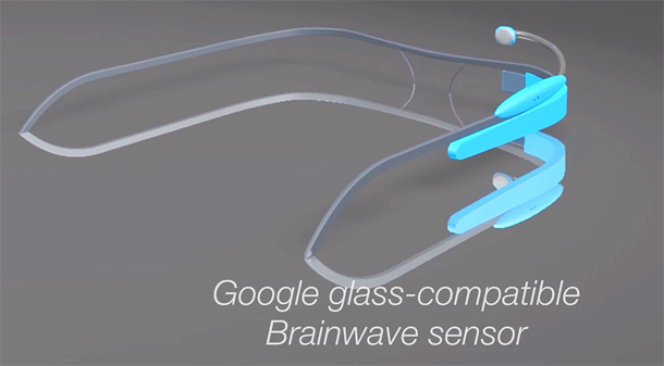 'OK Glass, what is my current mental state?' Concept video shows Google Glass-compatible brainwave sensor