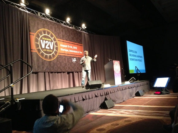 Tony Hsieh at SXSW V2V