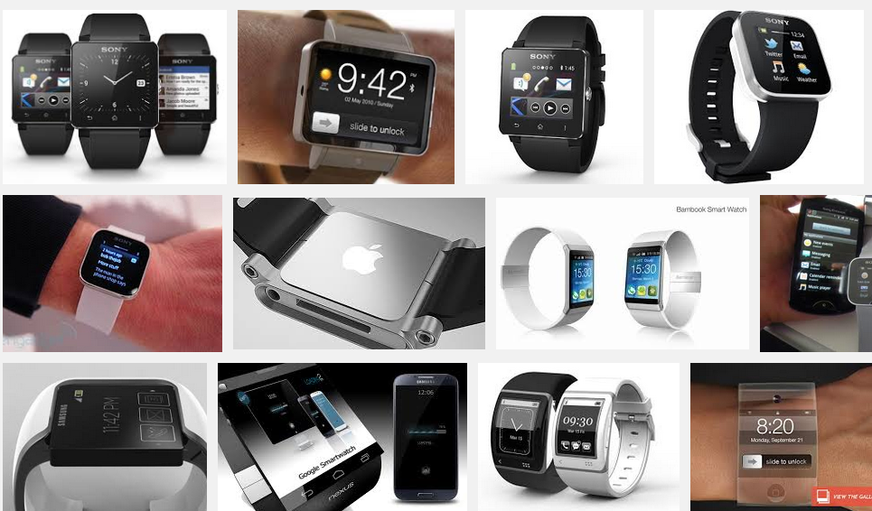 smartwatches screenshot from google