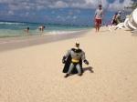 Batman in Cayman Islands