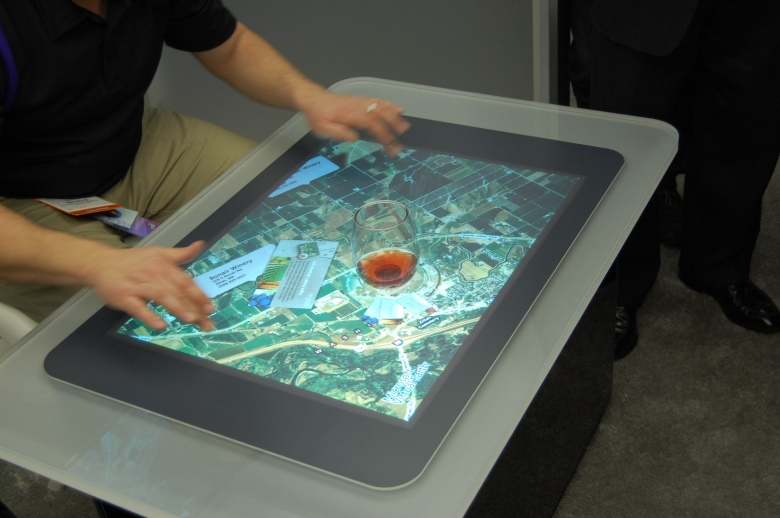 Microsoft Surface, CES 2008
