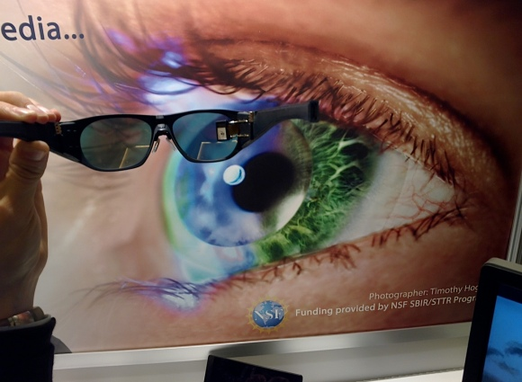 iOpik glasses at CES