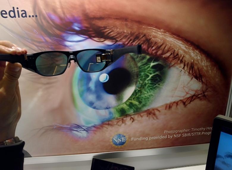 iOpik glasses at CES