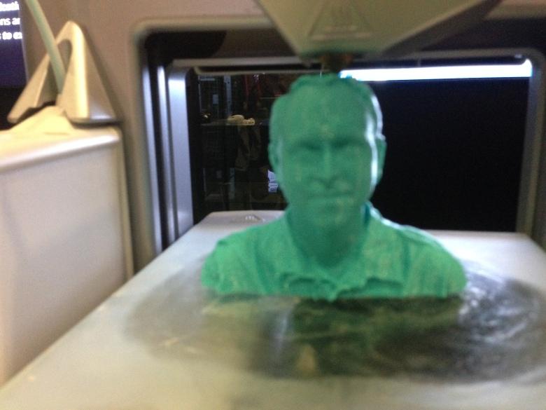 Greg Swan 3D Printed Bust