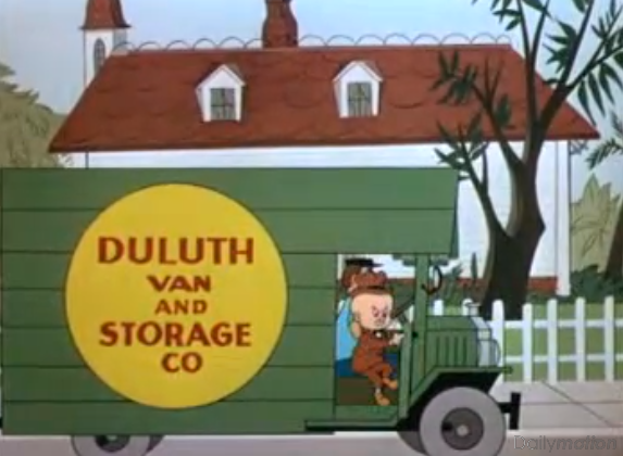 Elmer Fudd Duluth van and storage co
