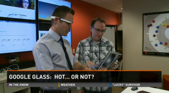 Real time translation with Google Glass, KARE 11, Greg Swan