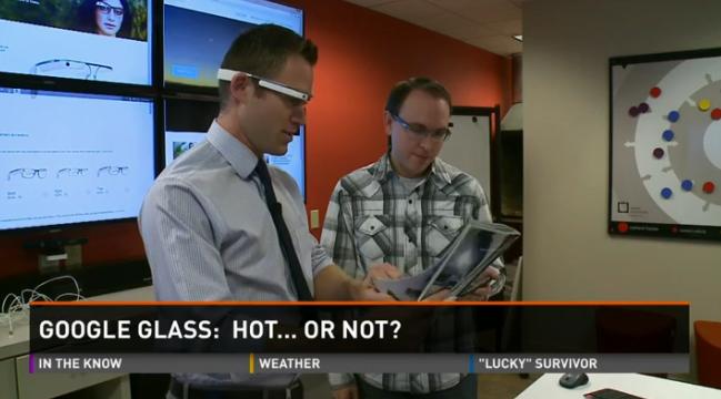 Real time translation with Google Glass, KARE 11, Greg Swan